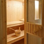 Sauna at Karuna Detox