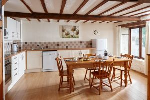 Beech Kitchen, a 2 bed cottage on Karuna Detox Retreats