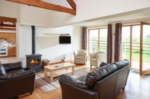 Linhay Lounge, a 3 bedroom cottage at Karuna Detox