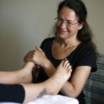 Reflexology on Karuna Detox