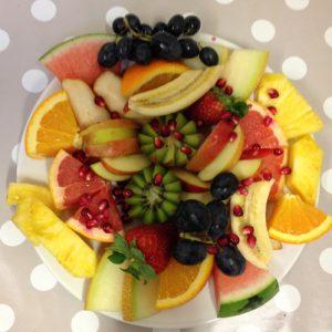 Colourful Fresh Organic Fruit