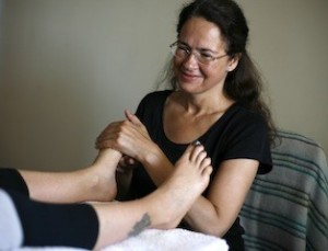 Reflexology with Lisa Karuna Detox Retreats