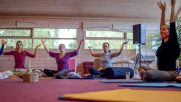 Yoga class with Shoshana of Karuna Detox Retreat
