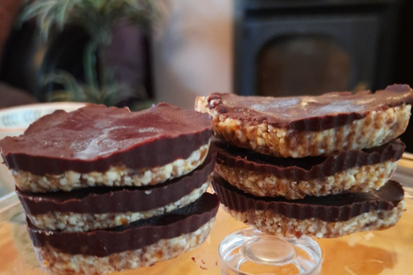 Raw Chocolate Digestive Biscuit